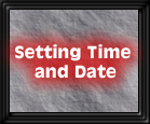 Setting Time and Date